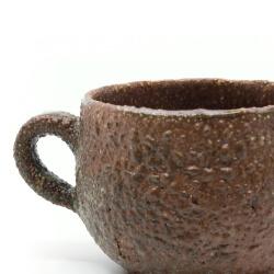 organische handgefertigte Tasse - Detail