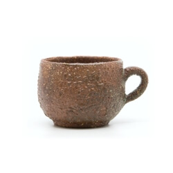 organische handgefertigte Tasse - Seitenansicht